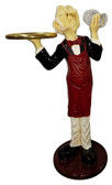 Connoisseur waiter with Tray Wine Butler 3FT