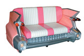 59 Cadillac Car Sofa - Pink