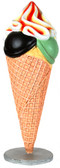 Ice Cream Cone Standing Display Statue 4FT
