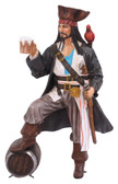 Caribbean Pirate Holding Beer Statue Life Size