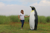 Large King Penguin Statue 6 FT