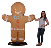 Gingerbread Man Statue 6FT Christmas Decor