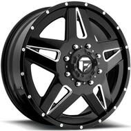 Fuel Off-Road Full Blown Front Dually Wheel - Chrome & Black