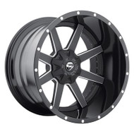 Fuel Off-Road Maverick Wheel - 2-Pc. Black & Milled