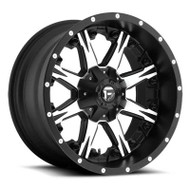 Fuel Off-Road Nutz Wheel - Black & Machined