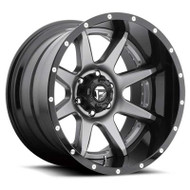 Fuel Off-Road Rampage Wheel - 2-Pc. Anthracite w/ Gloss Black Lip