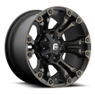 Fuel Off-Road Vapor Wheel - Black & Machined w/ Dark Tint
