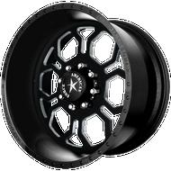 American Force Black Spyder SS Wheel