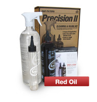 Precision II: Cleaning & Oil Kit (Red Oil) #88-0008