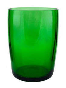 Forest Tumblers Made From Perrier Water Bottles  - set of 4