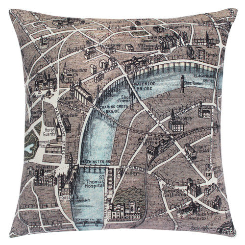 LONDON CUSHION 1889
