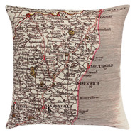 NORFOLK & SUFFOLK CUSHION 1794