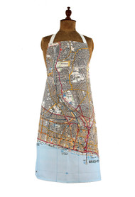 Brighton & Hove map apron jane revitt shop