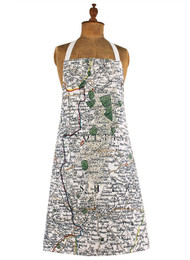 Nottinghamshire map apron jane revitt shop