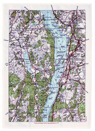 WINDERMERE TEA TOWEL