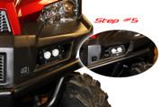 Xtreme Lighting Products' Polaris Ranger 900 Full Size LED Fog Light Kit