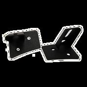 LED Light Bar Mounting Brackets - Jeep JK Series - Single Work Light
