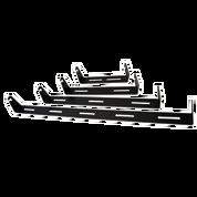 Dual Row LED Light Bar Mounts