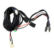 Single Lead LED Light Bar/Worklight Wiring Harness