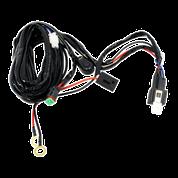Single Lead LED Light Bar/Worklight Wiring Harness