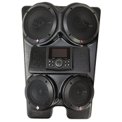 "Drive Unlimited's ""The WEDGE""  4-Speaker Stereo System"