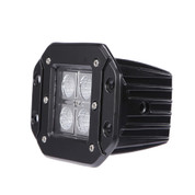 "ELEMENT - 3"" 18 Watt CREE LED Square (Flush Mount) Work Light - Flood"