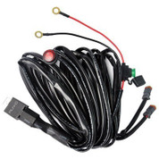 Dual Lead LED Light Bar/Worklight Wiring Harness