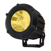 "Xtreme Lighting Products' ""ELEMENT"" - 3.5in CREE LED Round Work Light - Amber  - Flood"