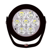 "Xtreme Lighting Products' ""ELEMENT"" - 6in Round Worklight - Flood"