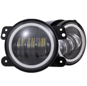 "Xtreme Light Product's ""Element"" CREE LED Halo 4in Fog Lights (Pair)"