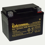 Centennial CTX4LBS Powersports Battery