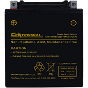 Centennial CTX14AHBS Power Sport Battery