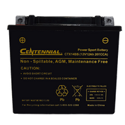 Centennial CTX14BS Powersports Battery
