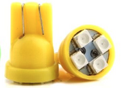 T10 LED - 4 LEDs (Pair)