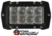 "Xtreme Lighting Products'  4in ""VENOM"" Double Row  CREE LED Light Bar - Flood Beam"