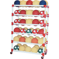 6 Shelf Ball Wall Storage System