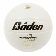 Baden's Perfection Leather Game Ball - White