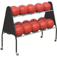 Two Tier Basketball Cart