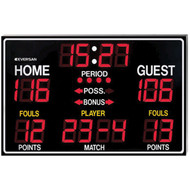 9765R Scoreboard with Remote Control