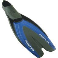 Pro Flex Blue Swim Fins - S(5-6)