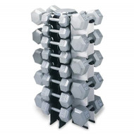 4 Sided Vertical Dumbbell Rack