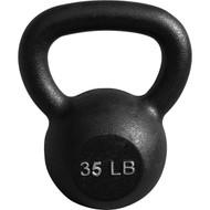 Cast Iron Kettlebell 35 lbs