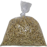 """Bulk 2 1/8"""" wood tees (bag of 1000)"""