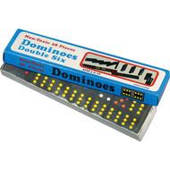 Wooden dominos-double six