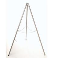 Tall tripod aluminum target stand