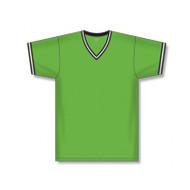 Athletic Knit Adult V-Neck Pullover Baseball Jersey