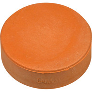 Orange 3 oz Sponge Practice puck