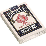 Bicycle jumbo index poker cards