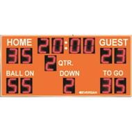 9355 Football Scoreboard With Remote