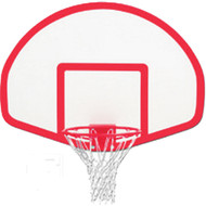 "Gared 39"" x 54"" Fiberglass Fan-Shaped Backboard"